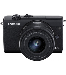 Canon EOS M200 + EF-M 15-45mm IS STM, black