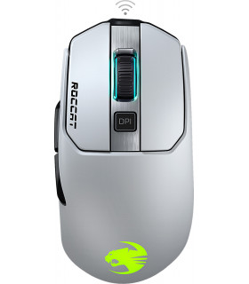 Roccat wireless mouse Kain 202 Aimo, white (ROC-11-615-WE)