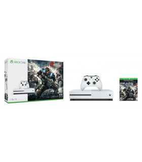 CONSOLE XBOX ONE S 1TB WHITE/GAME GEARS OF WAR 4 MICROSOFT